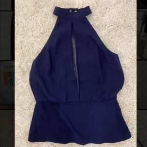 Peplum dynamite shirt never worn (except the pic)